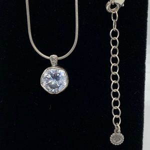 "Silpada ""Cinema Star"" Cubic Zirconia Necklace"